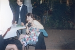 Photograph: Linda McCroskey at The Loveliest Night of the Year (1987)