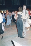 Photograph: Chris Allan dancing at The Loveliest Night of the Year (1987)