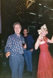 Photograph: Douglas Thomson at The Ugliest Night of the Year (1987)