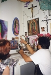 Photograph: Workshop Corner - Sue MacKechnie's Trip to Self Help Graphics, East L.A.