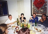 Photograph: Dinner Party for Print Studio staff and artists