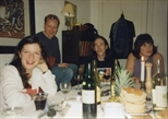 Photograph: Dinner Party for Print Studio artists