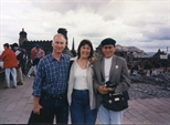 Photograph: John & Sue MacKechnie with Magda Audifred