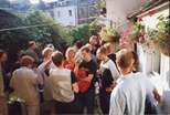 Photograph: Garden Party at the MacKechnie's house