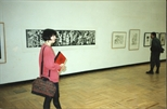 Photograph: Sue MacKechnie in the House of Artists, Moscow 1991