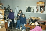 Photograph: Olga's Studio, Moscow 1991