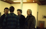 Photograph: Group at Ursula Jakob exhibition opening