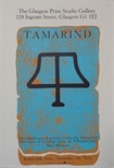 Exhibition Poster - Tamarind - An Exhibition of Prints from the Tamarind Institute of Lithography in Albuquerque, New Mexico